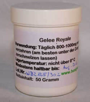 Gelee Royal pur 50gr.